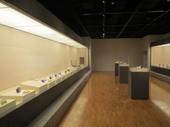 七宝製の道具たち展示風景